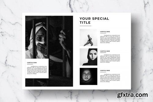 CreativeMarket - Magazine Template Vol. 12 3828960