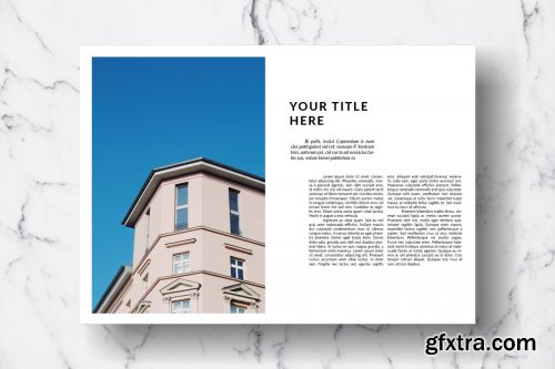 CreativeMarket - Magazine Template Vol. 13 3841534