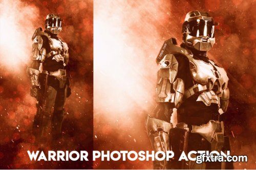 Warrior Photoshop Action