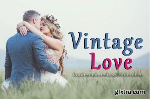Vintage Love  Lightroom and ACR  presets