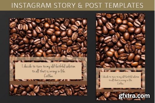 Instagram Post & Story Templates
