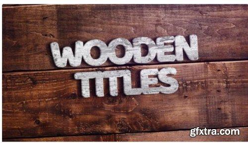 Wooden Titles 249501