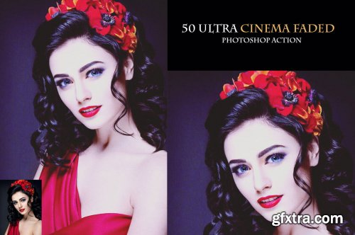 50 Ultra Cinema Faded Photoshop Action