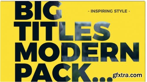 Big Titles Pack - After Effects 250920