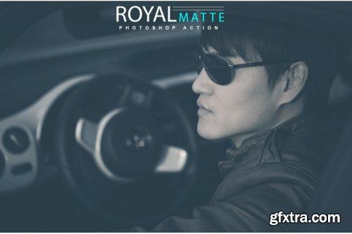 Royal Matte Photoshop Action
