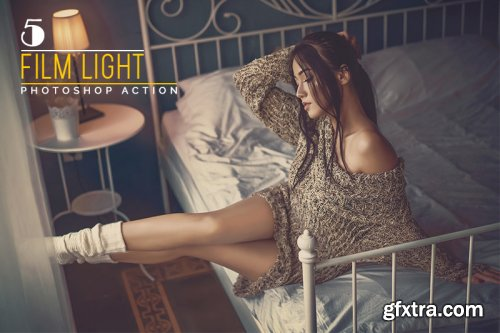 5 Film Light Photoshop Actions