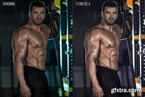 5 Fitness Photoshop Actions