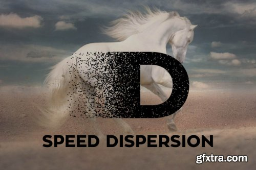 Speed Dispersion Font