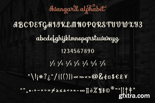 CreativeMarket - Avangard 3888263
