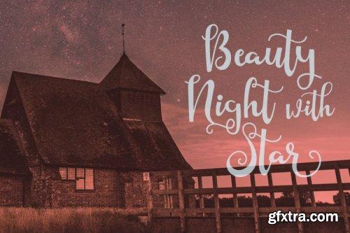 CreativeMarket - Starlight Script Style 3886150