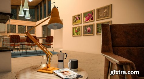 Lynda - SketchUp Pro: Modeling a Lamp