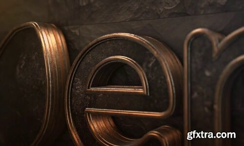 Videohive - Dark Logo Reveal Element 3D - 21291734