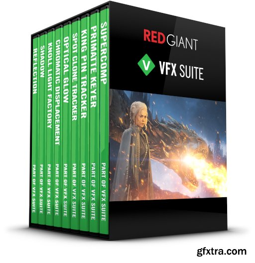 Red Giant VFX Suite 1.0.0 MacOS