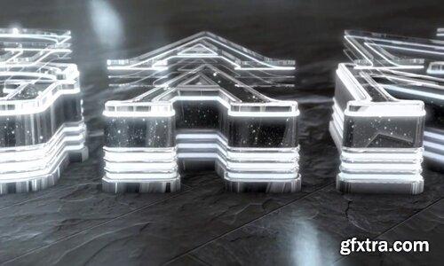 Videohive - Chrome Glam Neon Logo Reveal - 22966048