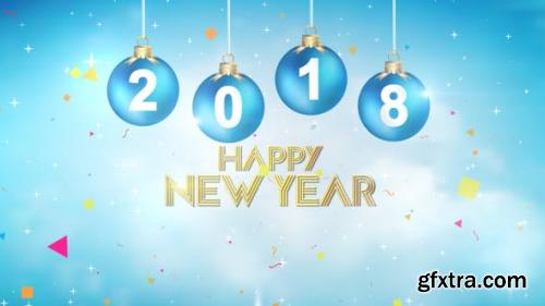 VideoHive New Year Greetings 2018 19206666