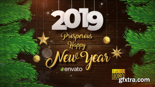 VideoHive Christmas and New Year Opener 23066686