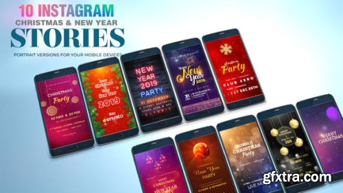 VideoHive Christmas and New Year I Instagram Stories 23051131