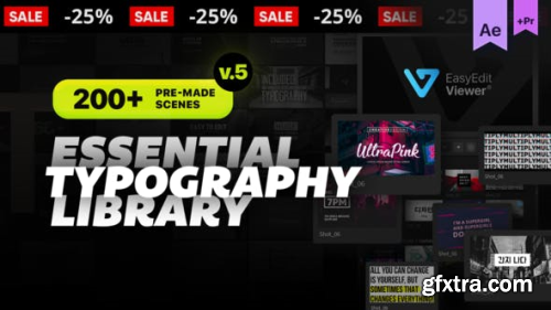 Videohive Essential Titles and Lower Thirds V4.3 20681372