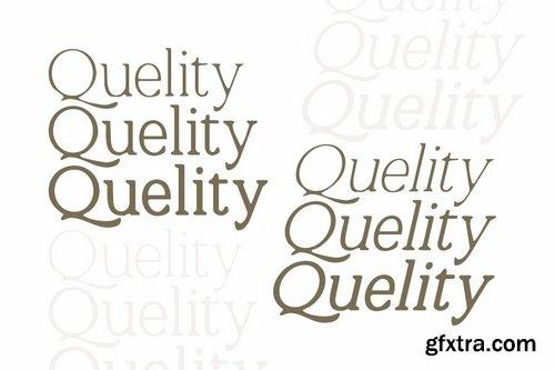CM - Quelity - Crooked Serif Font 3703370