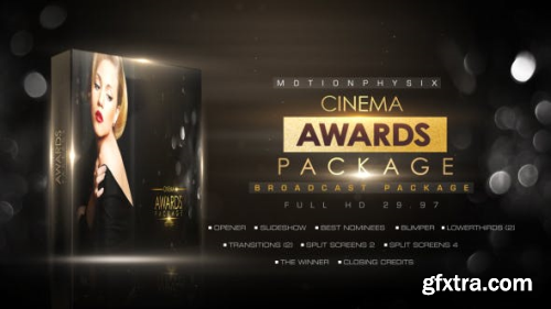 Videohive Cinema Awards Package 14365603