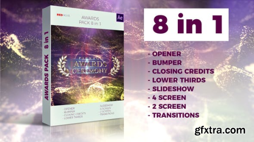Videohive Awards Pack 23738774