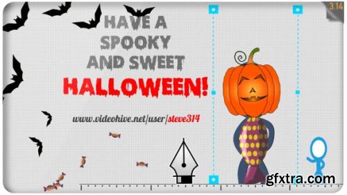 VideoHive Happy Halloween Funny Greetings 18308008