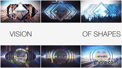 VideoHive Vision Of Shapes 9115099