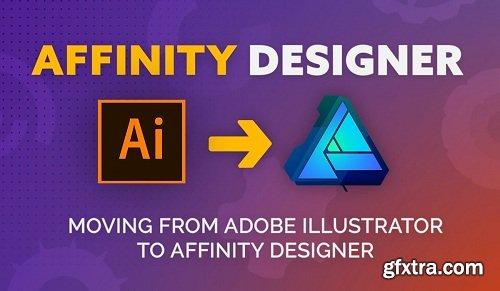 From Adobe Illustrator to Affinity Designer: Basic Tools & Introduction