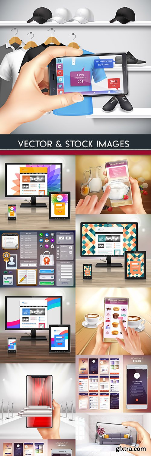 Internet technologies and smartphone application online design