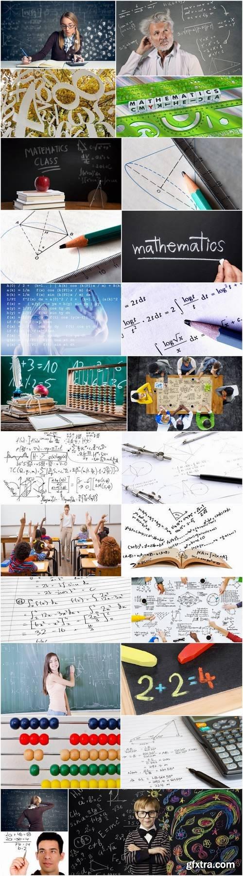 Mathematics education student schoolboy science formula 25 HQ Jpeg