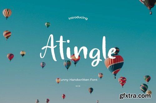 Atingle - Handwritten Font