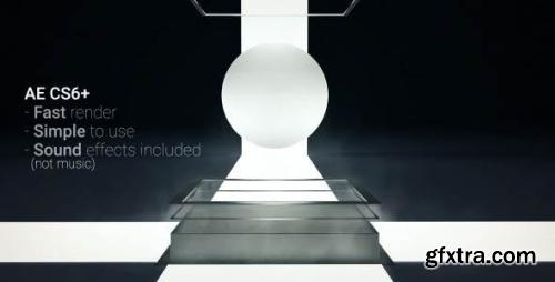 VideoHive White Sphere Logo Reveal 16708065