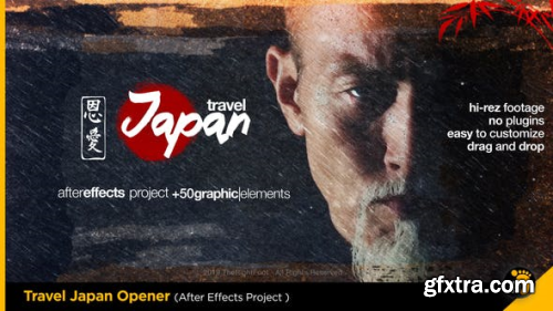 VideoHive Travel Japan Tradition Opener 2153345