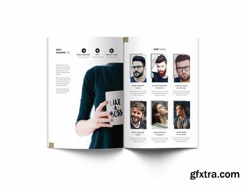 Man Fashion A4 Brochure Template