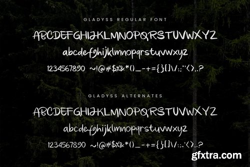 CM - Gladyss Font 3925343
