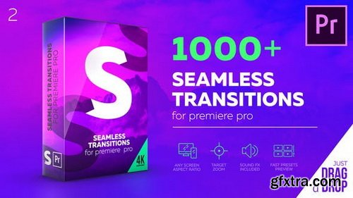 Videohive - Seamless Transitions for Premiere Pro V.2.1 - 22125468