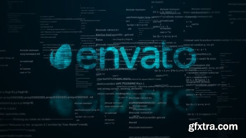 VideoHive Digital Code Logo Reveal 23589751