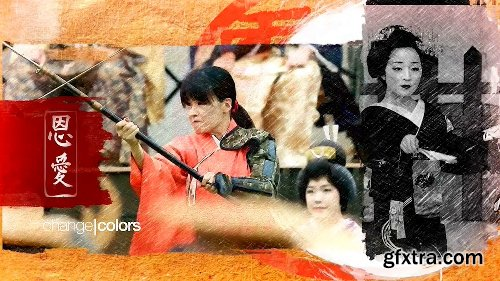 Videohive Travel Japan Tradition Opener 23672224