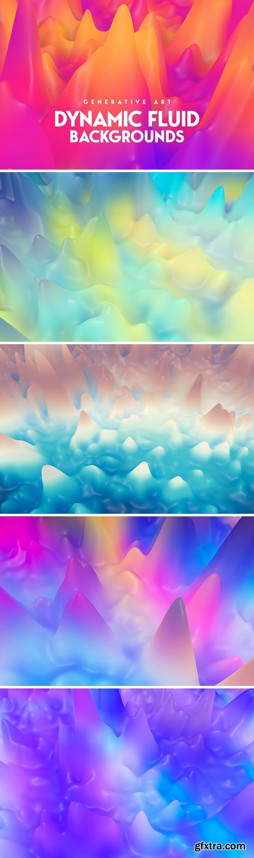 Liquid Splash 3D Backgrounds