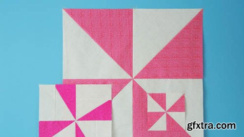 CreativeLive - Playing with Pinwheels in Quilting