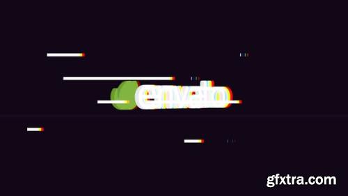 VideoHive Flip Glitch Logo 22835118