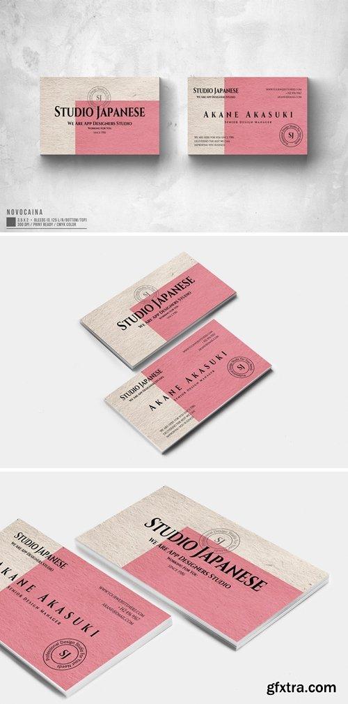 Akane Akasuki Studio Business Card