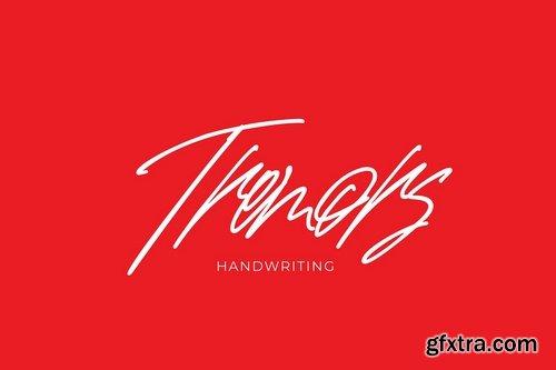 Tremors handwriting