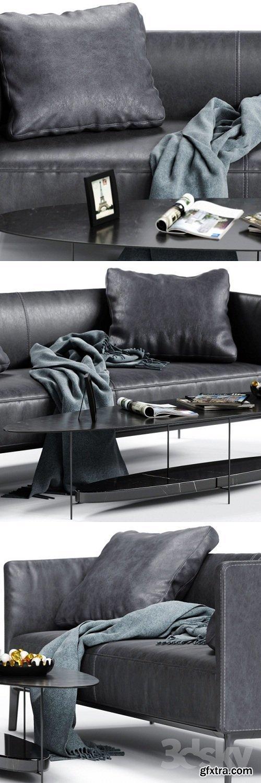 Molteni & C CAMDEN Low Backrest Sofa