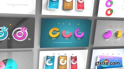 Videohive - 3D Pie Chart Infographics - 24079113