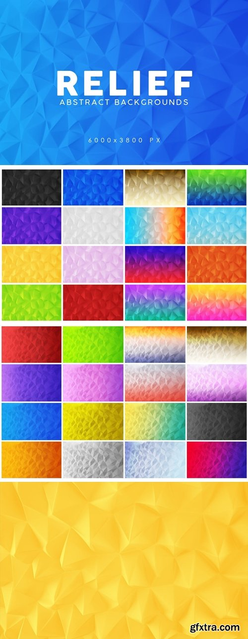 Relief Abstract Backgrounds