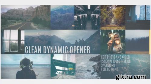 VideoHive Clean Dynamic Opener 14470741