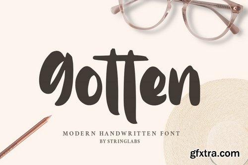 CM - Gotten - Modern Handwritten Font 3927407