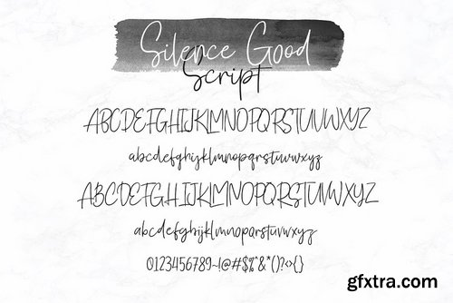 CM - Silence Good - Font Duo! 2876413