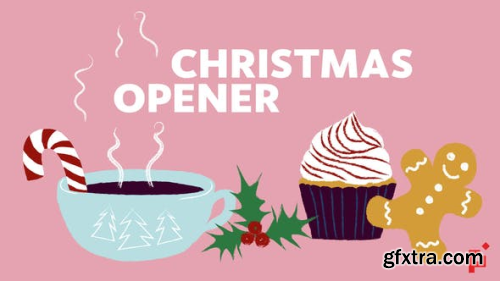 VideoHive Illustrated Greeting Christmas Opener 22930291